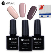 Buy 3 Get 1 Gift  Colors Nail Gel Lack Entferner Wraps Soak Off Gel 7.5ml