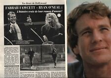 Coupure de presse Clipping 1982 Farrah Fawcett Ryan O'Neal  (4 pages)