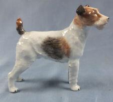 foxterrier Terrier Figur Dresden figur Hundefigur hund porzellanfigur porzellan