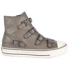 Ash Virgin Perkish Womens Leather High Top Sneaker Trainers UK 5