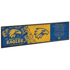 AFL Footy West Coast Eagles Rubber Bar Runner Beer Glass Mat BNWT