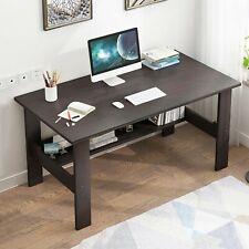 Us Home Office Computer Table Desk Workstation Student Dorm Laptop Study w/Shelf