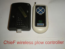 NEW !! ChieF WIRELESS plow controller for western HTS Fisher HT 4 pin Straight