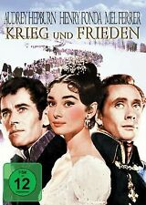 Krieg und Frieden - Audrey Hepburn - Henry Fonda - DVD - OVP - NEU