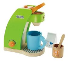 Hape ~ Coffee Maker ~ Playfully Delicious ~ Wooden toy kitchen set ~ NEW