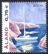 Aland 2004 Europa/Holidays/Tourism/Yacht/Sailing/Boats/Transport 1v (n41536)