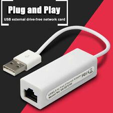 1PC USB Ethernet Adapter USB 2.0 Network Card USB to Internet RJ45 Lan 100Mbps