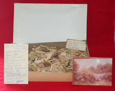 """Vtg PASTIME WOOD JIG SAW PUZZLE """"AN AFTERNOON SAIL"""" 256pcs 10.5""""X15.25"""""""