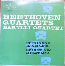 beethoven string quartets-barylli quartet- quartets 5+6 - westminster 18121 NM