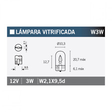 Glühlampe Glühbirne Lampe Leuchtmittel OSRAM 2821 W3W 1 Stück