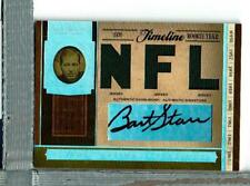 Bart Starr auto Jersey, 6/10, 2006 Nat. Treas. Green Bay Packers