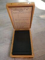 Rare Verascope F 40 stéréoscope 24 vues couleurs Italie en 1959/Sicile 1959 (45