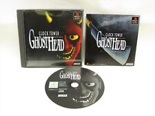 CLOCK TOWER GHOST HEAD PS1 Playstation Japan Game p1