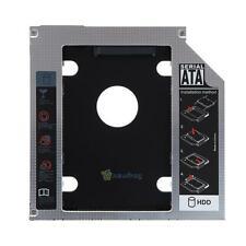 "2.5"" Universal SATA 2nd SSD HDD Caddy Bay Hard Drive For 9.5mm Apple Macbook Pro"