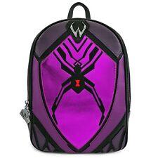 Loungefly Overwatch Widowmaker Purple Mini Backpack Bag PU Leather Purse