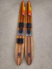 Cypress Gardens Water Skis Mustang 64in EUC