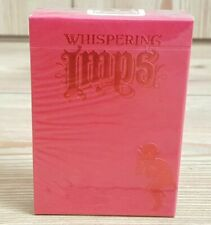 More details for whispering imps red playing cards deck first edition 2013 new & sealed