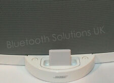 Bluetooth music receiver for Bose sounddock series 1 white iPhone, iPad Android