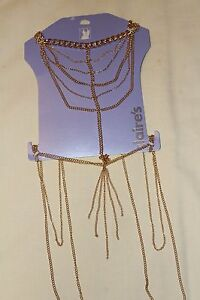 Gold Body Chain New with Tags  Body Jewellery