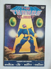 Thanos Quest book 1 Marvel Comics 1st print 1990 Jim Starlin