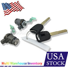 Left + Right Door Lock Cylinder with 2Keys For Honda CRV 2002-2006 #72185S9A013