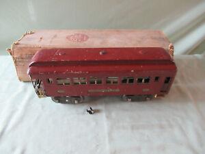 Lionel Standard Gauge Prewar 322 Passenger w/Original Box