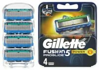 GILLETTE FUSION5 Proglide Razor Blades Replacement 4 Pack (No Box) FAST DISPATCH