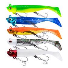 pesca traina 2//6 nodi Teste piombate Blue Fox Plummy varie misure e colori