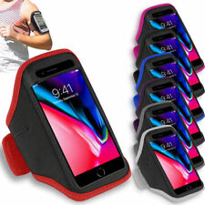 Sports Running Jogging Gym Armband Arm Band Case For Apple iPhone 5 6 7 8 X Plus