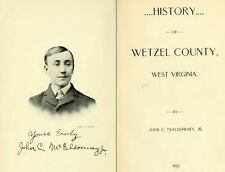 1901 WETZEL County West Virginia, WV, History & Genealogy Family Tree DVD CD B19