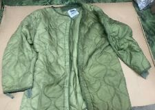 Genuine Military Issue Used Cold Weather M-65 Field Jacket Liner USGI Large