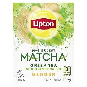 Lipton Matcha Green Tea - Magnificent with Japanese Matcha