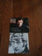Lot  2 Cd Single   Johnny Hallyday dont 1 digipack et 1 réédition