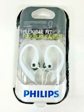Philips Flexible Fit Wired Headphones White