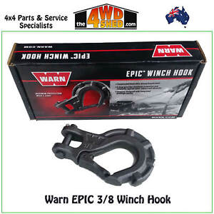 Warn Epic 3/8 Winch Hook Dyneema Synthetic Rope ARB TJM MCC Winch
