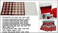 Look 12334-35-CAPS29 Münztableaus 35 + 35 Münzkapseln 29 Schutz-Protector Pro