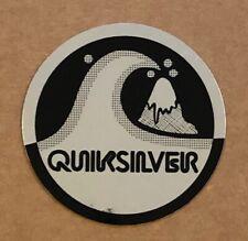 QUIKSILVER - CHROME/REFLECTIVE STICKER