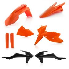 ACERBIS Plastik Full Kit KTM EXC 125-300 EXC-F 250-525 Bj. 17-18 orange-schwarz