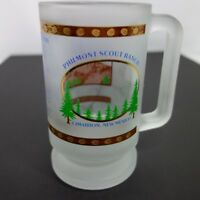 Philmont Scout Ranch Etched Glass Mug See Thru Photo Philmont Hymn Cimarron NM