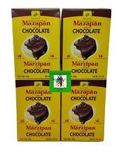 4X Cajas de Mazapanes cubiertos de Chocolate 16 unidades cada Caja TOTAL = 64