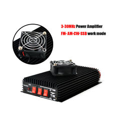 HF Power Amplifier 3-30Mhz AM FM SSB Amplifier cooling fan For Handheld CB Radio