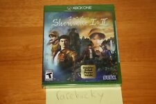 Shenmue I & II (Xbox One) NEW SEALED FIRST PRINT W/POSTER, MINT