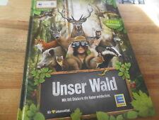 Sach WWF : Unser Wald : Mit 180 Stickern die Natur (53 s.) Sammelalbum EDEKA