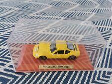Atlas 1/43, Melkus RS 1000 Wagen Coupe gelb/ Orange neuwertig Sportwagen DDR