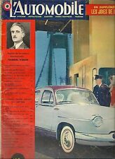 L'AUTOMOBILE 160 1959 LE SAHARA GABRIEL VOISIN MERCEDES 190 D W121 VELOCETTE