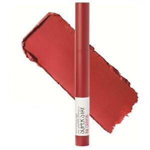 Maybelline Superstay Matte Ink Crayon Lipstick 45 Hustle In Heels