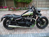 TRIUMPH THUNDERBIRD 1600 and 1700 STORM DEEP TONE SILENCERS + CAT REPLACEMENT