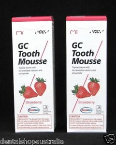 GC Tooth Mousse x2  relieves whitening sensitivity, dry mouth, conditions  (S2)