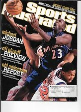 Michael Jordan Wizards basketball Sports Illustrated Jan. 14, 2002