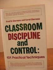 Teaching Resource - Book - Classroom Discipline and Control